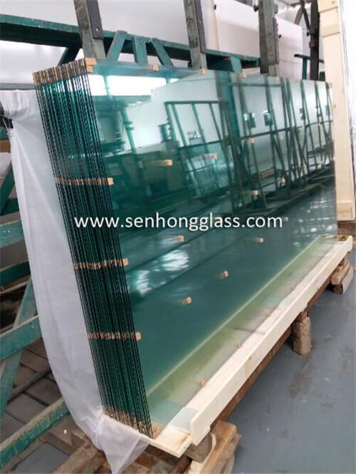 6.38mm clear laminated glass china manufacturer senhong