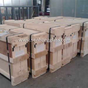 china tempered glass full-closed-plywood-cases senhong