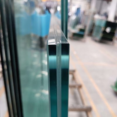 verre feuilleté trempé de Chine à bords polis senhong 2