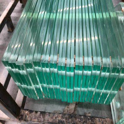 verre feuilleté trempé de Chine à bords polis senhong