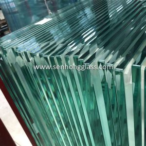 fabricant de verre trempé transparent chine Senhong Glass