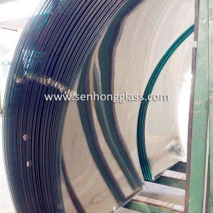 fabricant de verre feuilleté trempé courbé