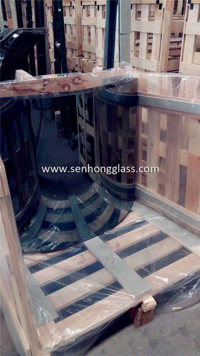 fabricant de verre feuilleté trempé courbé prix
