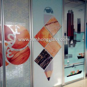 Fabricant de verre à impression numérique en Chine