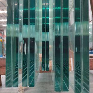 china jumbo verre feuilleté trempé bord poli