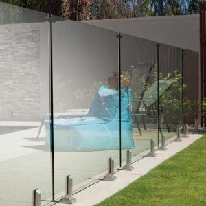 fabricant de clôtures en verre trempé