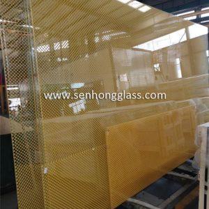 verre de sérigraphie chine 3