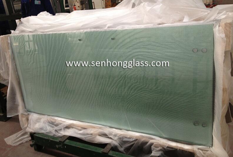 Porte coulissante en verre trempé de 10 mm
