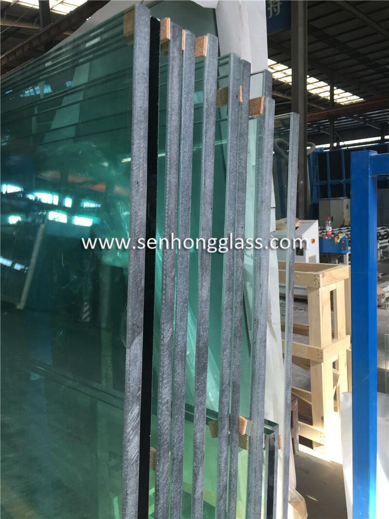 Arête de meulage de 15 mm en verre trempé jumbo