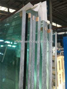 Arête de meulage surdimensionnée de 15 mm en verre trempé