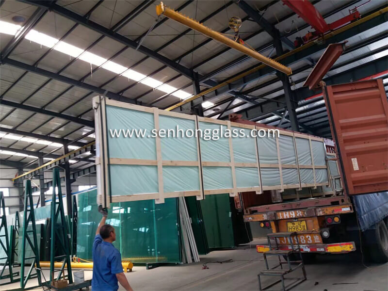 19mm tempered glass loading