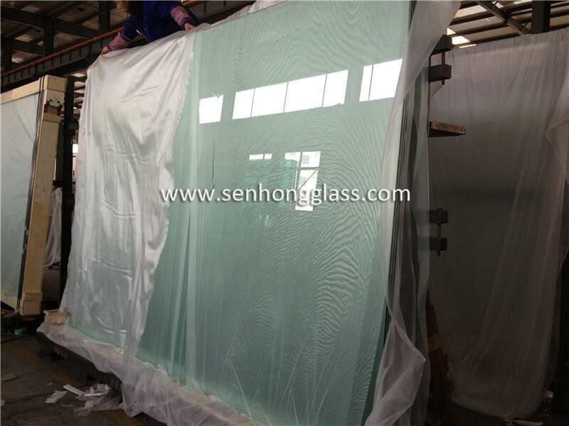 6.38mm clear laminated glass 2