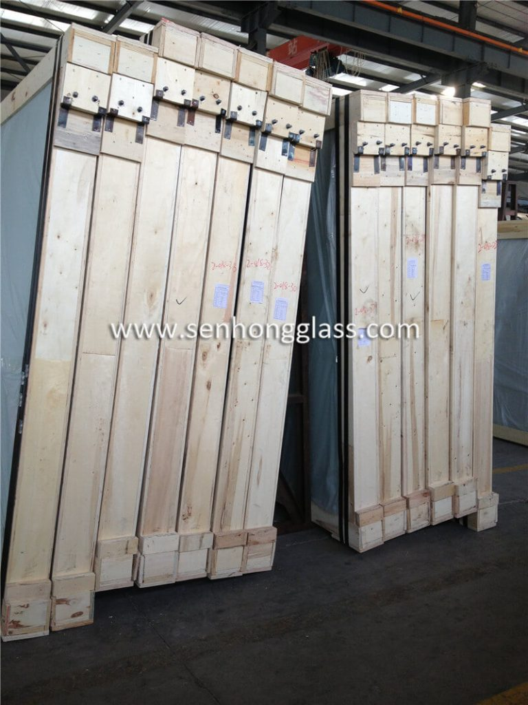 6.38mm clear laminated glass 3