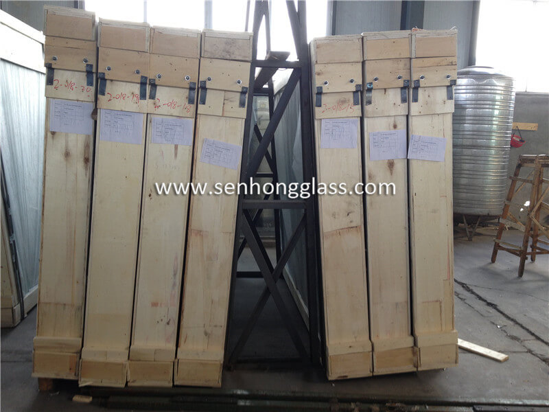 6.38mm clear laminated glass 5