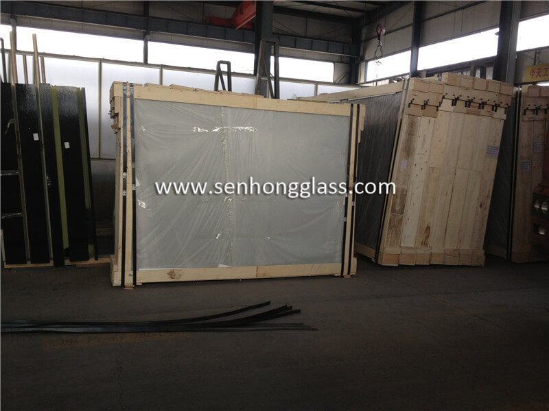 6.38mm clear laminated glass 6