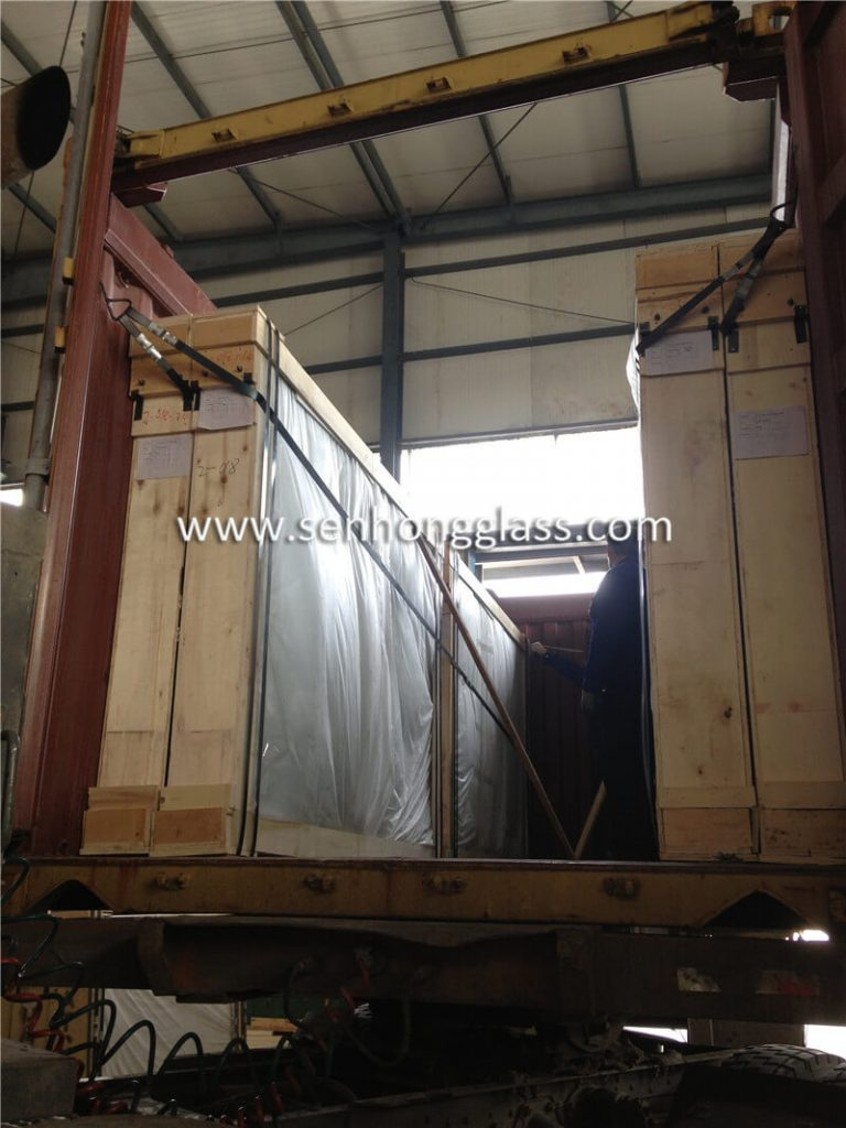 6.38mm clear laminated glass 7