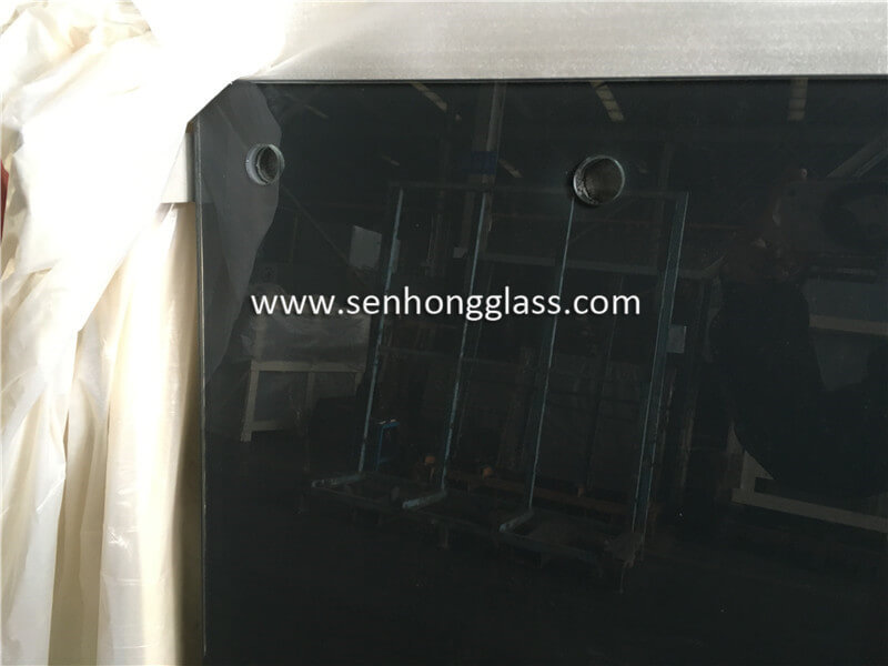 8+1.52+8 tempered laminated silk screen printing glass 2
