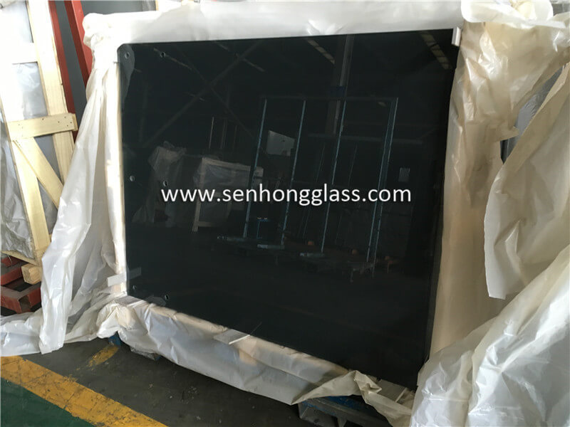 8+1.52+8 tempered laminated silk screen printing glass