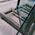 12mm-verre trempé avec forme irrégulière-2